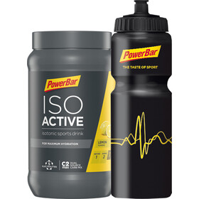 PowerBar Isoactive Bottle Onpack Promotion Lemon 600g + 1 Bicycle Bottle